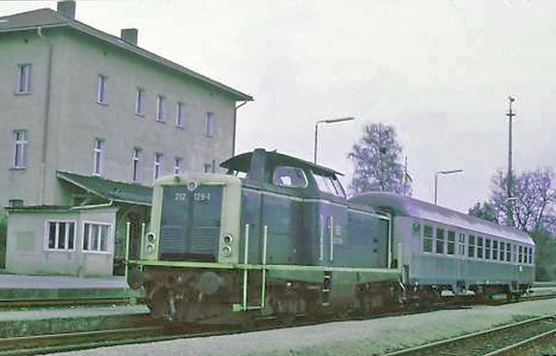 212er mit Silberling um 1983