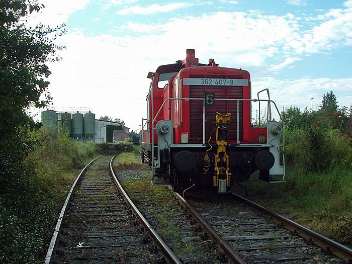 Ladegleis Feuchtwangen 18.09.2014