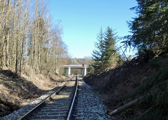 Brücke am 01.03.2021