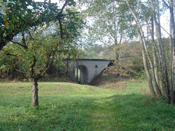 Brücke bei km 18,9