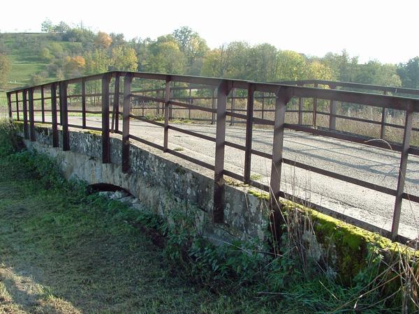 Brücke bei km 19,4 im Jahr 2019