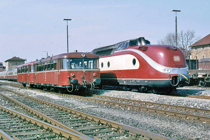 798 und VT 601 in Rothenburg