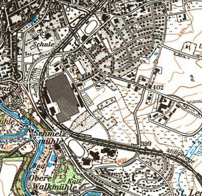 Rothenburg AEG Karte um 1994