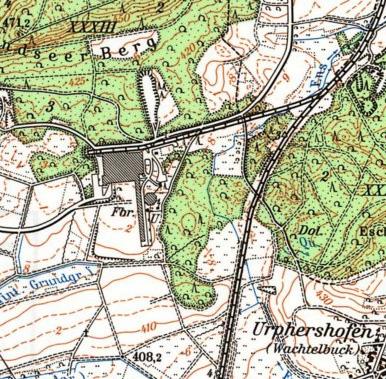 Rothenburg Gyproc Karte um 1983