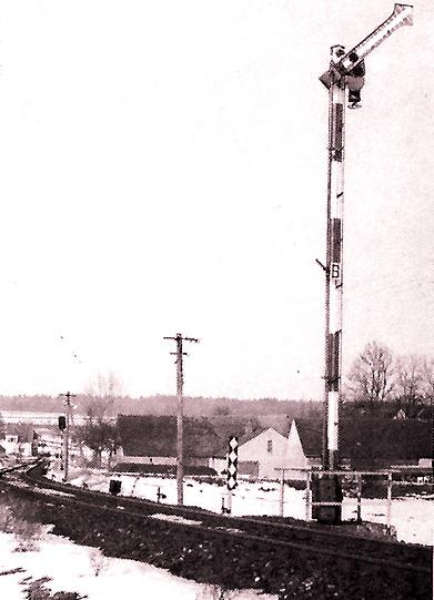 Diebach Einfahrsignal 1970