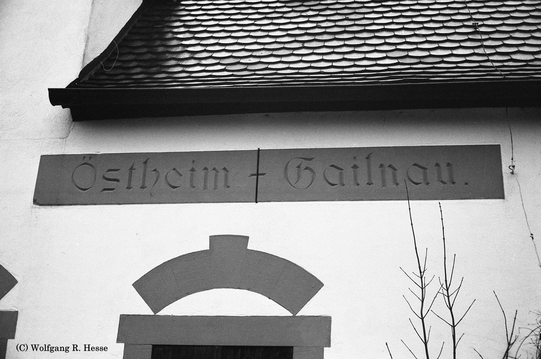 Detail Bhf Östeheim-Gailnau