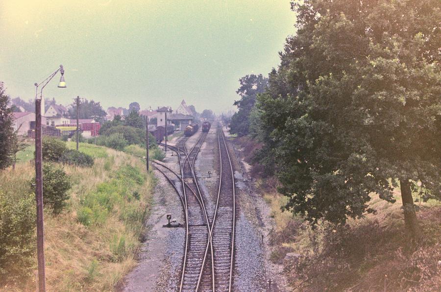 Bahngleise vor 1979