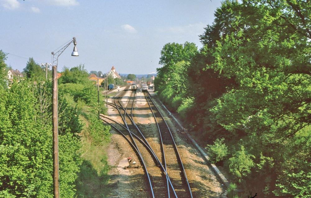 Bahngleise DKB 1984