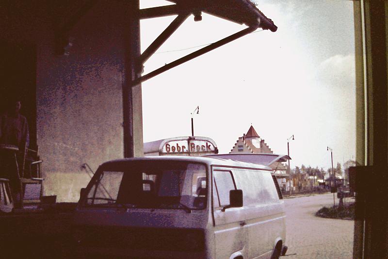 Güterhalle Dinkelsbühl Straßenseite