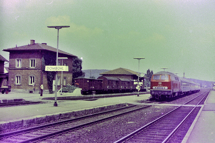 Dombühl um 1980