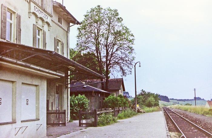 Schopfloch um 1980