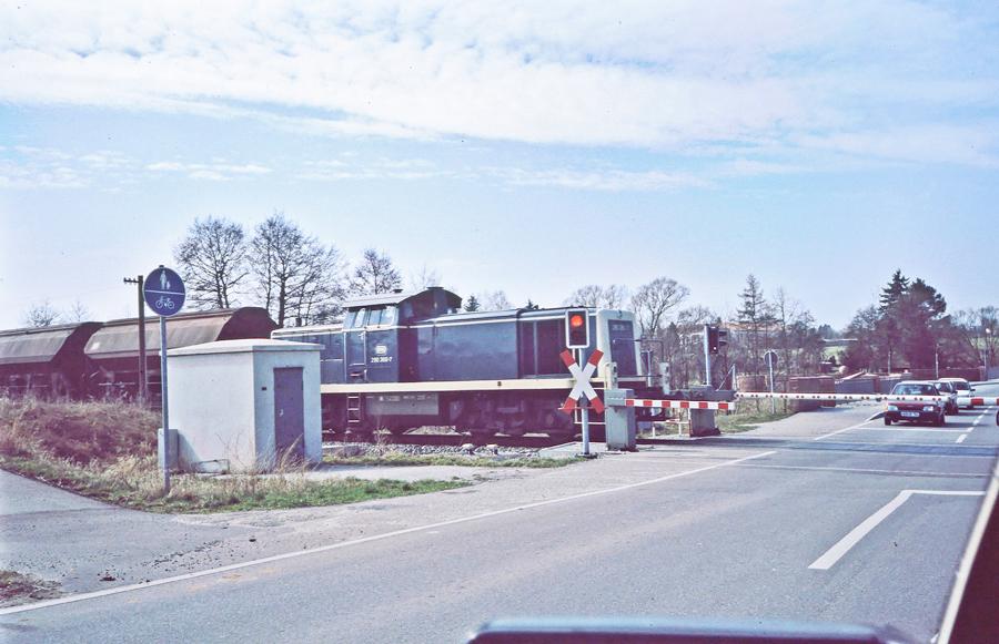 BÜ Ölmühle 1989