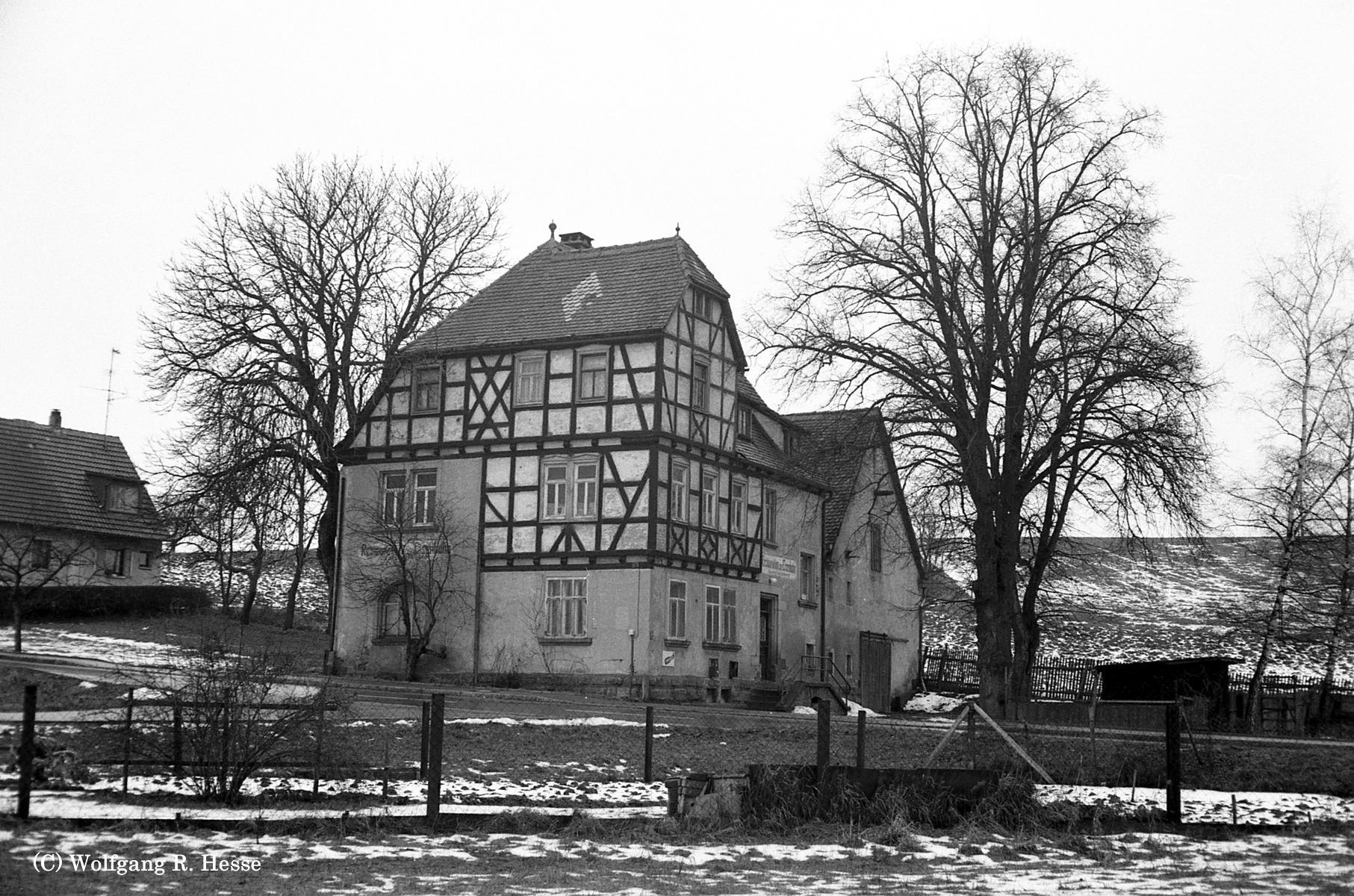 Bahnhofsgaststätte Diebach