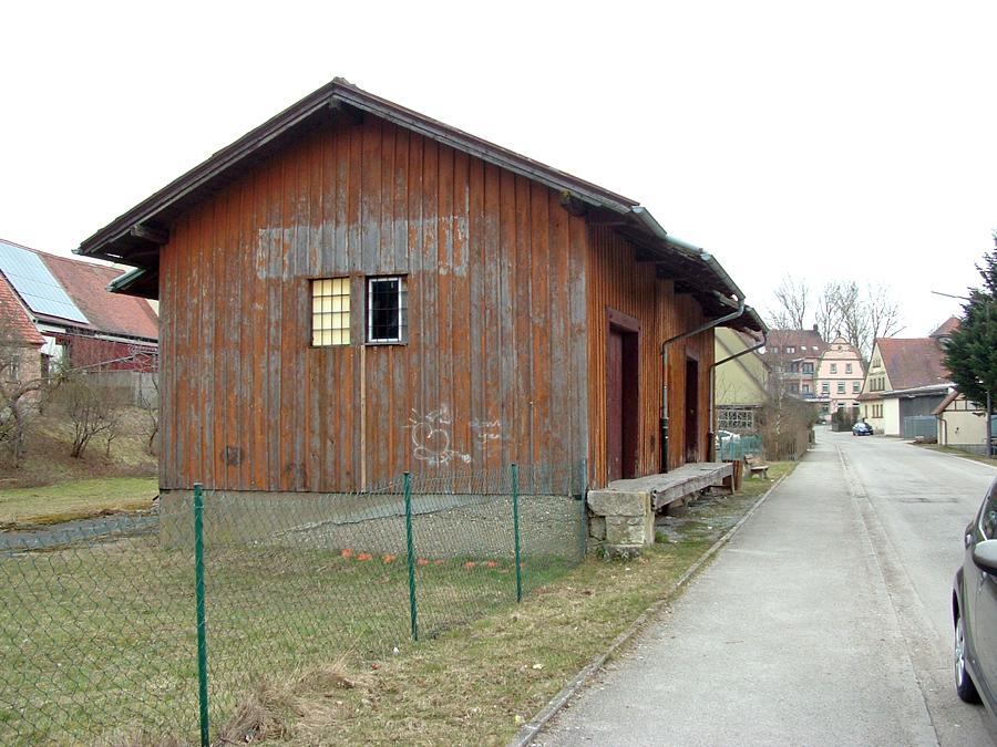 Güterhalle Schillingsfürst 2013