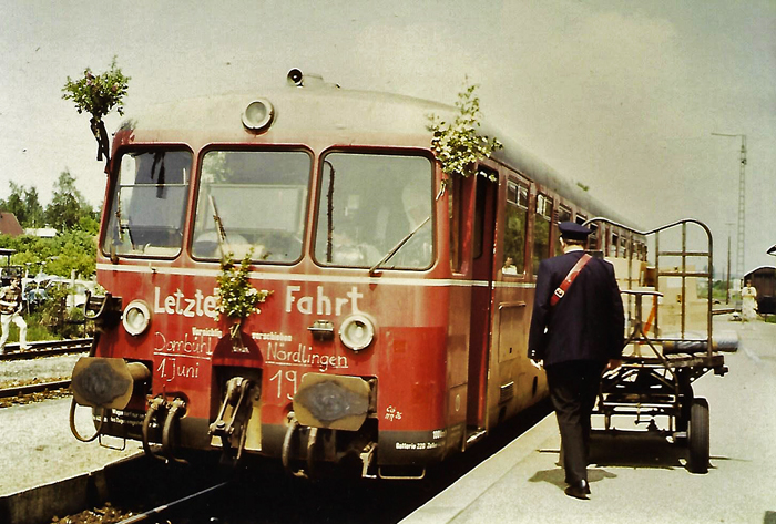 Bhf. Feuchtwangen 1985