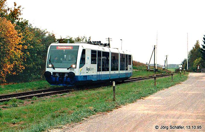 Wallerstein 1995 Sonderzug
