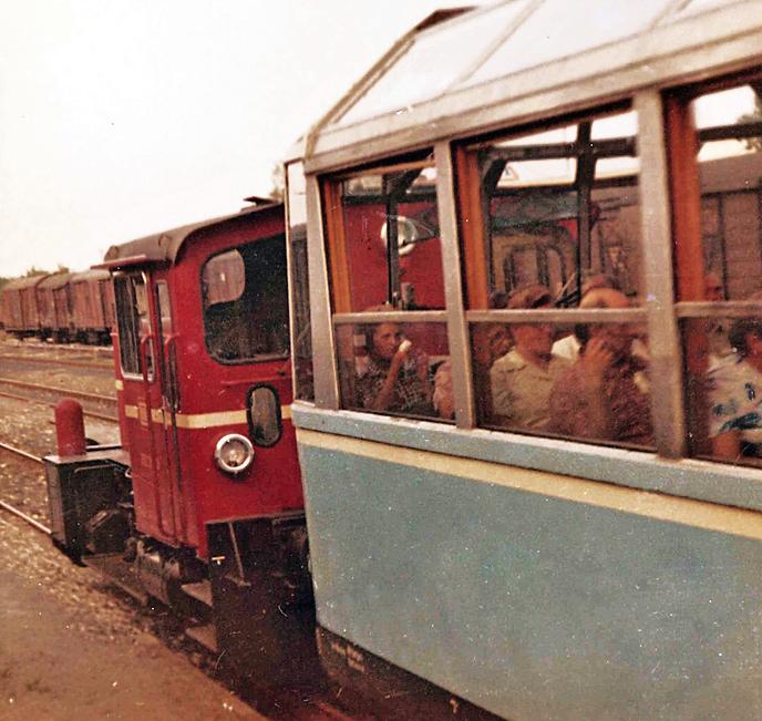 491 001-4 in Rothenburg 1976