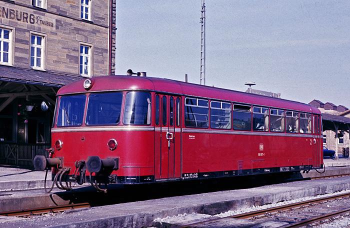 Abgestellter VS 98 n Rothenburg 1976