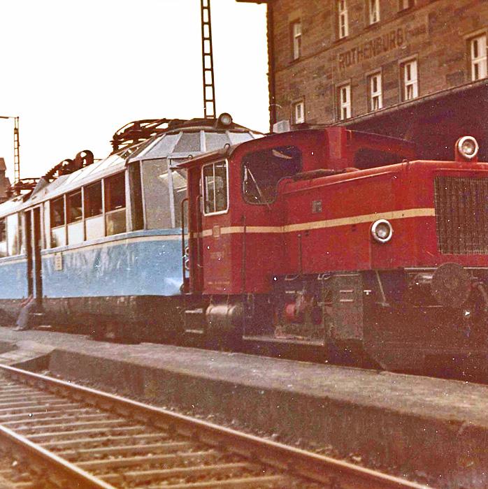 ET 491 in Rothenburg