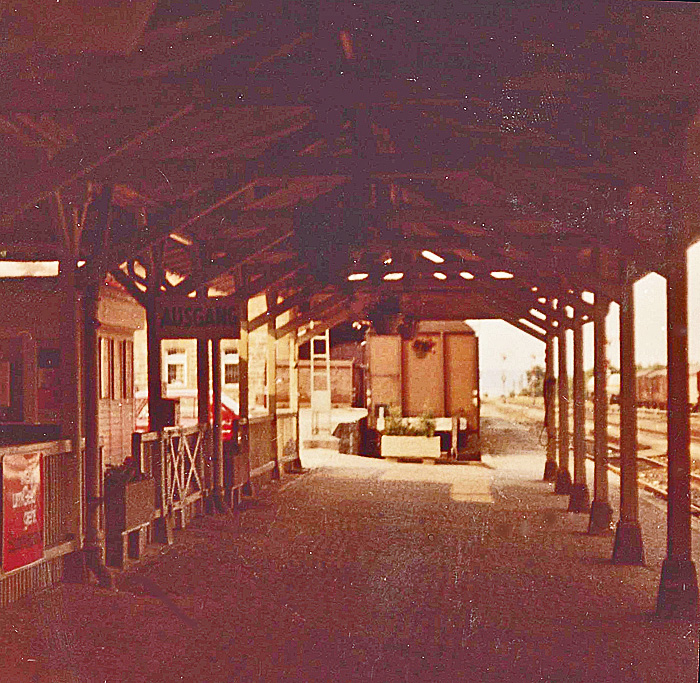 Bhf Rothenburg 1976