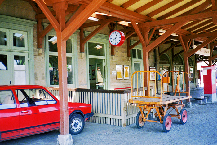 Bhf Rothenburg 1985