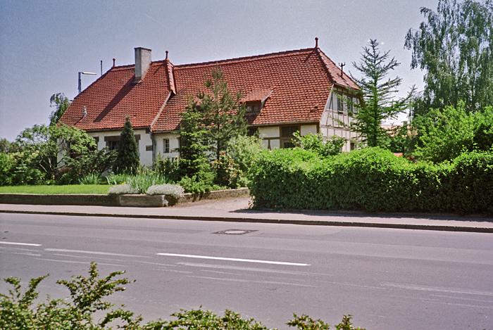 Bhf Rothenburg 1985 Nebengebäude WC