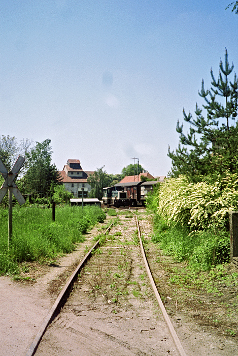 Rothenburg 1985 Anschlussgleis Fa. Langenbuch & Sohn