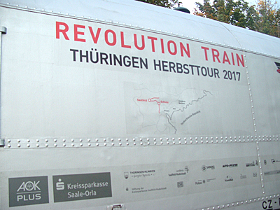 Revolution Train 11.10.17 Dinkelsbühl