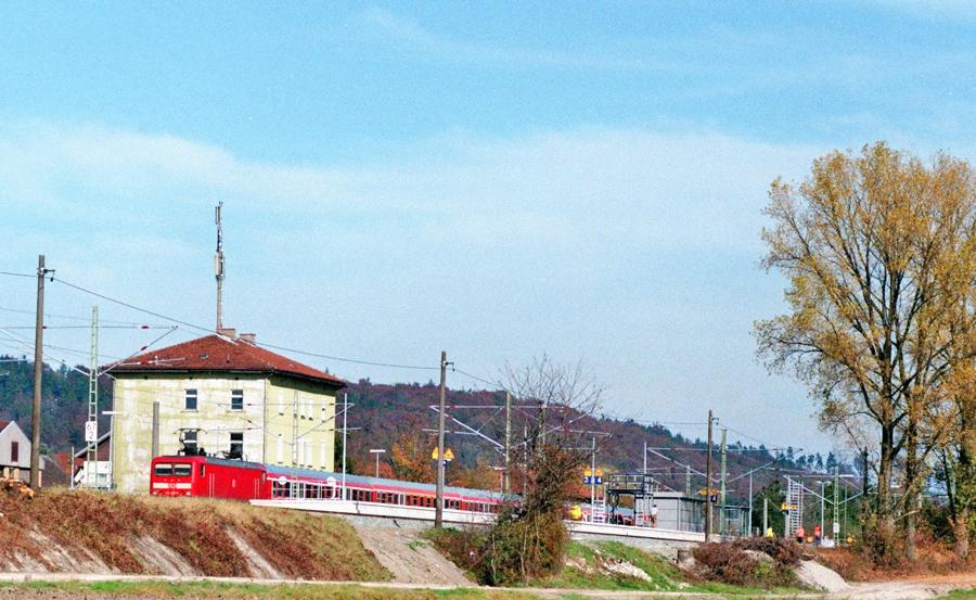 Bauarbeiten Herbst 2017 in Dombühl