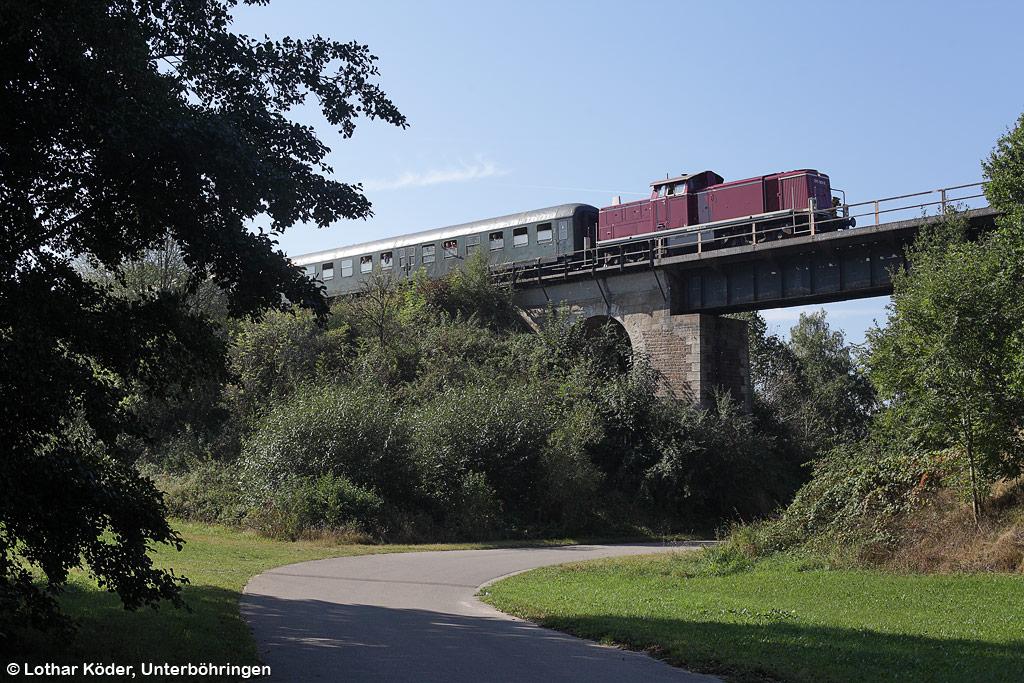 Brücke Deuenbach am 25.9.16