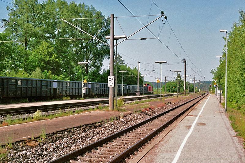 BYB Schrottzug in Dombühl 10.6.2014