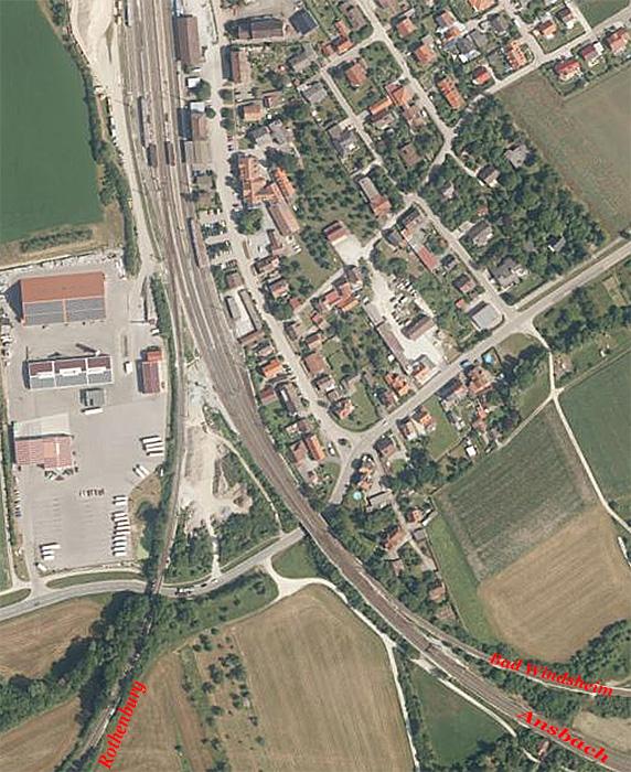 Steinach Luftbild 2019