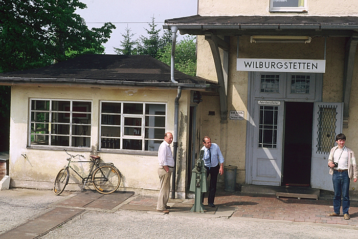 Sonderzug am 14. Mai 1985 Abschiedsfahrt Wilburgstetten