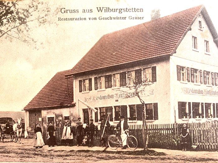 Bahnhof-Gaststätte Wilburgstetten