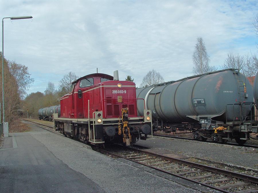 Kesselwagen in Dinkelsbühl am 11.3.2017