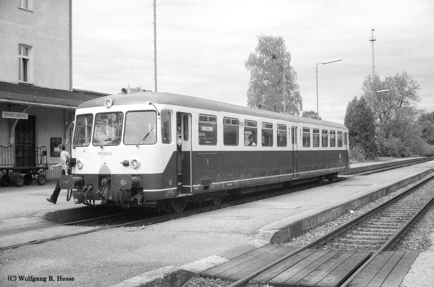 515 023-0 in Dinkelsbühl 13.5.1983