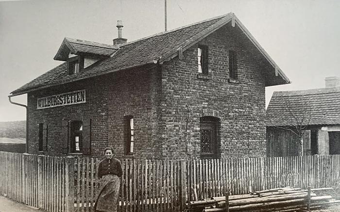 Bahnwärterhaus Wilb Weiltinger Str 1940