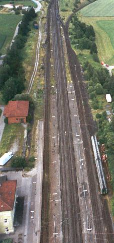 Bahnhof Dombühl 2003