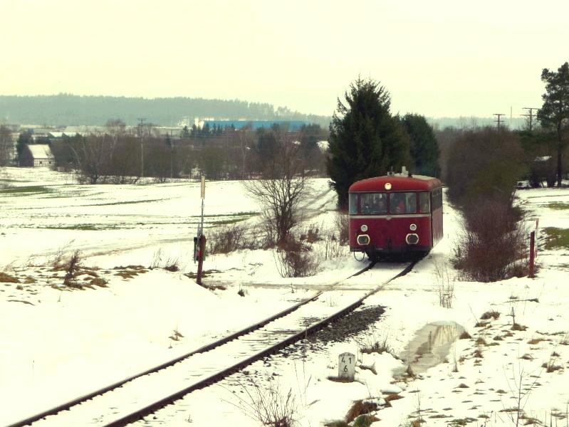 BÜ km 41,6 am 05.12.2010