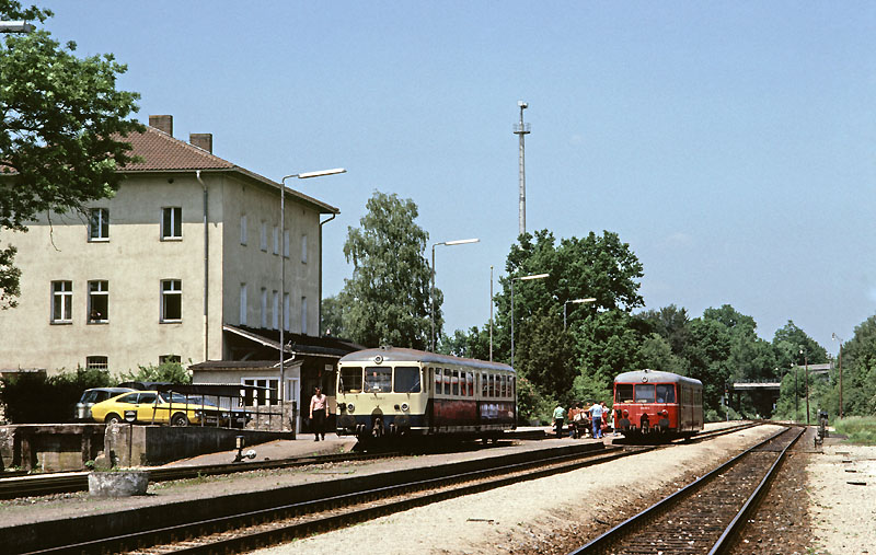 Dinkelsbühl 1984 - 6147 u. 6144