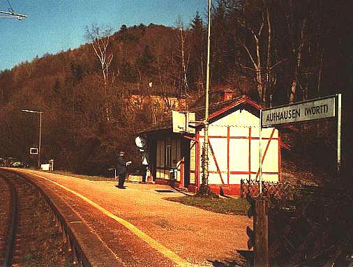 Haltepunkt Aufhausen (Württ.)