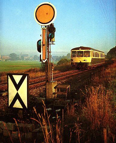 4.9.1980 Ausfahrt eines ETA aus Dinkelsbühl