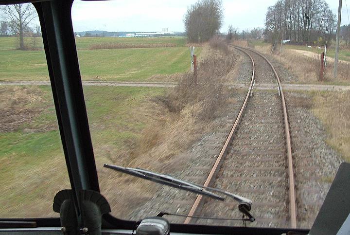 Bahnübergang bei Banzenweiler