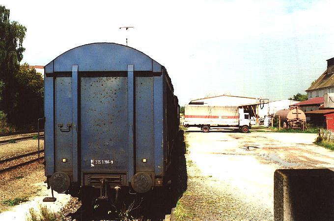 Ladegleis Feuchtwangen 4.10.1995