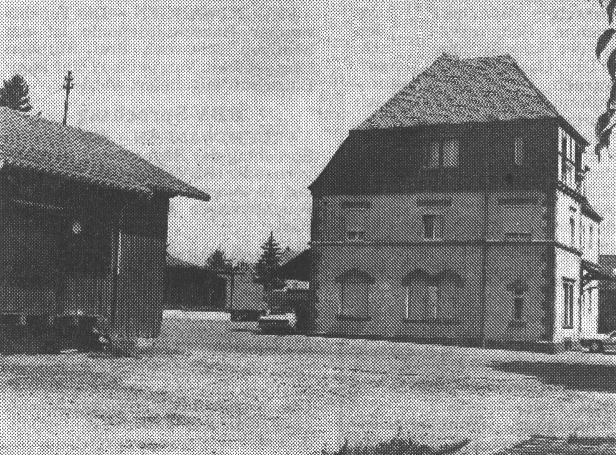 Bhf. Bechhofen 1991