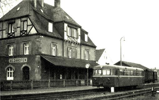 VT 95 9282 in Bechhofen