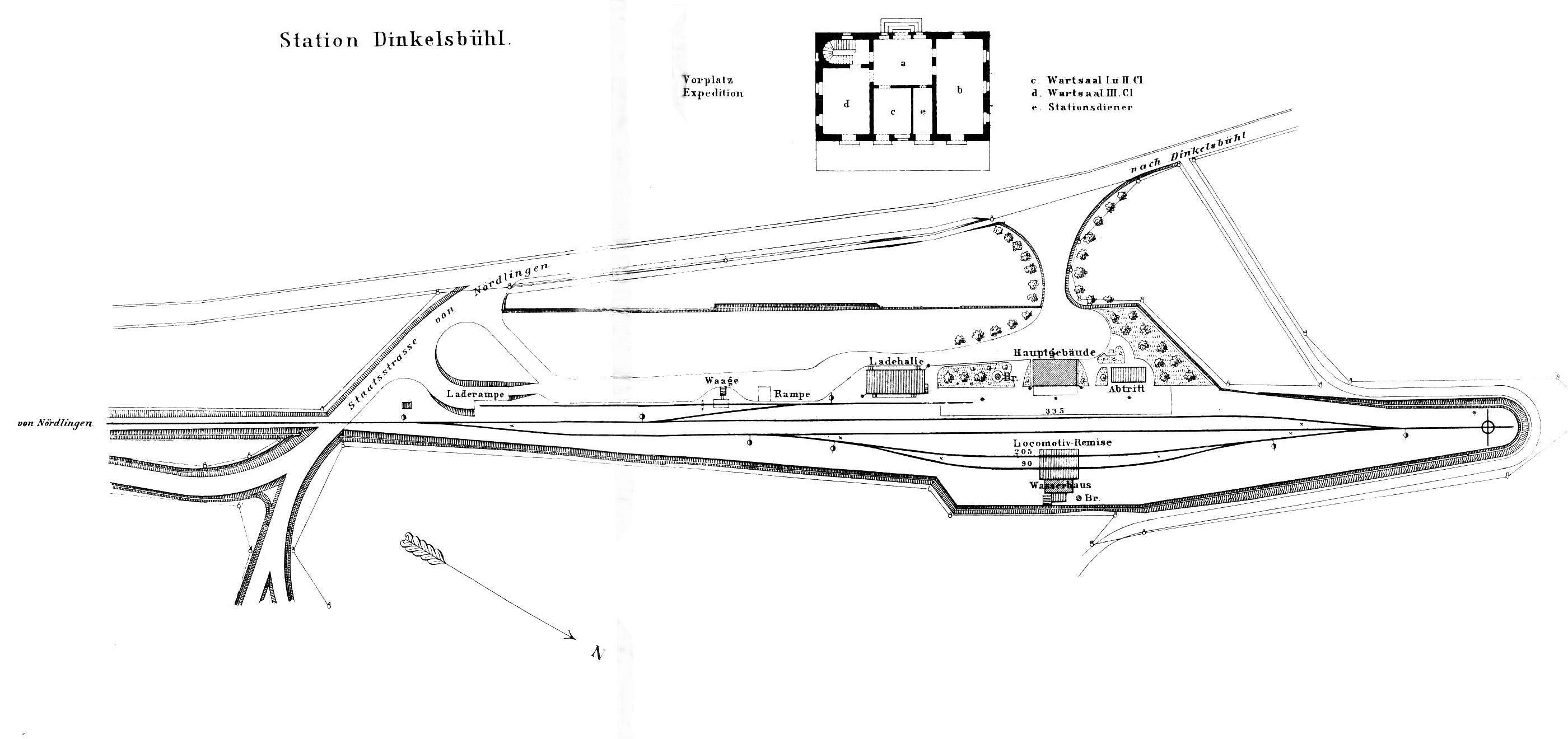 Lageplan 1876