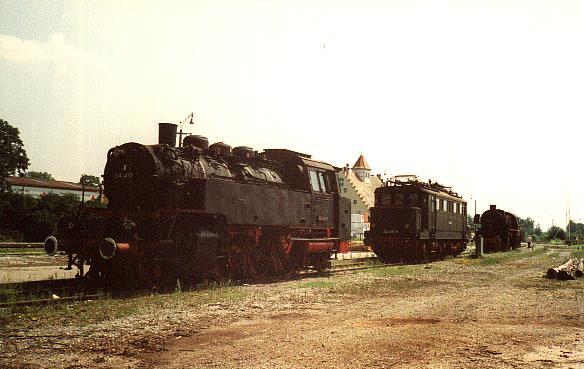 Bahnhofsfest Dinkelsbühl 1992