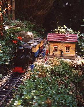 Steffens Gartenbahnhof