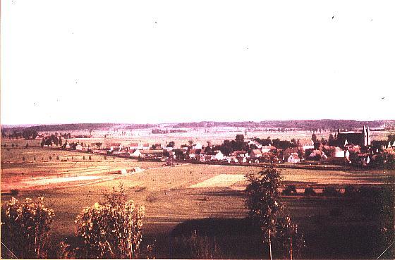 Blick vom Martinsberg (Herrieden)